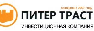 Логотип Питер Траст