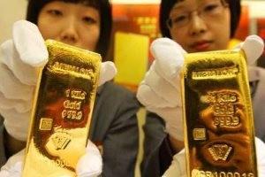 Китай: золотой запас