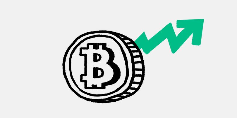 Bitcoin подорожал на 76%
