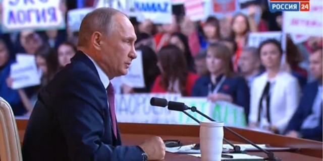Путин: экономика растет