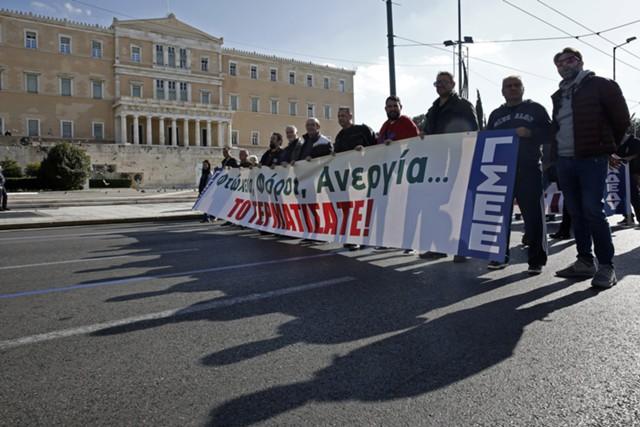 В Греции начались