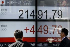 Акции Азии растут на