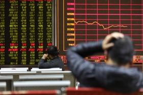 Акции Китая в Гонконге