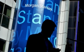 Прибыль Morgan Stanley