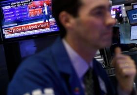 Обвал рынка акций США