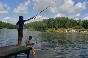 Любительская рыбалка в