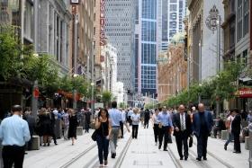 Рост ВВП Австралии в I