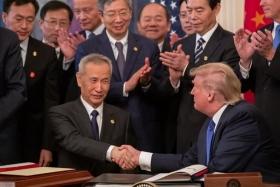 США и Китай подписали