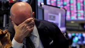 Нефть упала ниже $27: