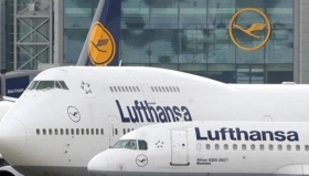Lufthansa может